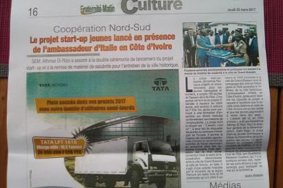 Formazione online e avvio di start-up innovative per i giovani in Costa d'Avorio