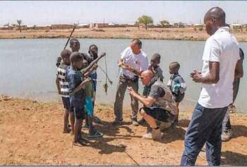 Cooperazione decentrata : il sindaco di Ronkh, Senegal,  in visita in Piemonte