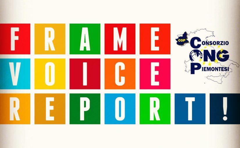 """Il progetto europeo """"Frame, Voice, Report!"""""""