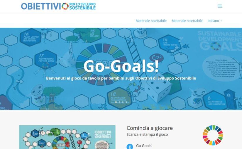 Go-Goals! Gioco da tavolo per bambini sugli Obiettivi di Sviluppo Sostenibile 2030