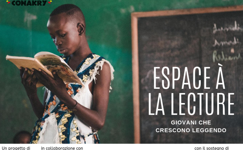 Espace à la lecture: giovani che crescono leggendo