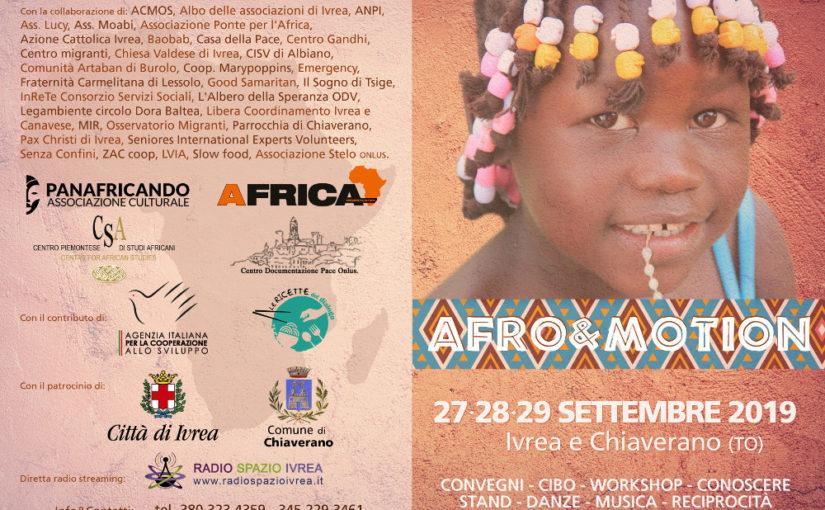 Afro&Motion a Ivrea e Chiaverano