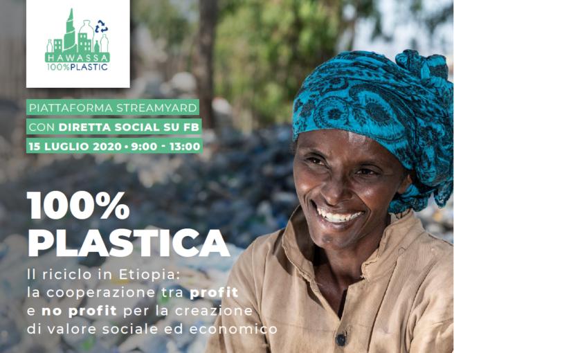 COOPERAZIONE TRA PROFIT E NO PROFIT, il riciclo della plastica in Etiopia