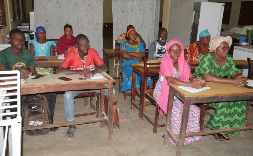 Giovani al centro della formazione : appuntamento a Banfora in Burkina Faso